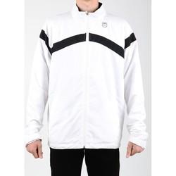 vaatteet Miehet Ulkoilutakki K-Swiss Accomplish WVN JCKT 100627-102 white, black