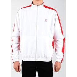vaatteet Miehet Ulkoilutakki K-Swiss Accomplish Jacket 100250-119 white, red