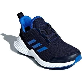 kengät Lapset Matalavartiset tennarit adidas Originals Fortarun K Mustat
