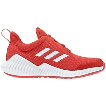 kengät Lapset Matalavartiset tennarit adidas Originals Fortarun K Punainen