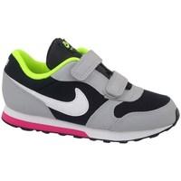 kengät Lapset Juoksukengät / Trail-kengät Nike MD Runner 2 TD Mustat, Harmaat, Vaaleanvihreä