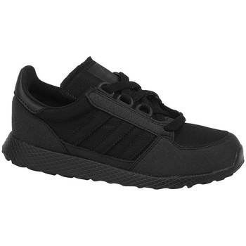 kengät Lapset Derby-kengät & Herrainkengät adidas Originals Forest Grove C Mustat