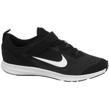 kengät Lapset Matalavartiset tennarit Nike Downshifter 9 Psv Mustat