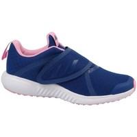 kengät Tytöt Juoksukengät / Trail-kengät adidas Originals Fortarun X CF K Keltaiset, Tummansininen