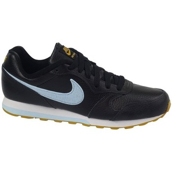 kengät Lapset Derby-kengät & Herrainkengät Nike MD Runner 2 Flt Mustat