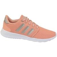 kengät Naiset Matalavartiset tennarit adidas Originals QT Racer Oranssin väriset