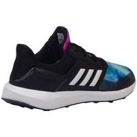 kengät Lapset Juoksukengät / Trail-kengät adidas Originals Rapidarun X K Mustat