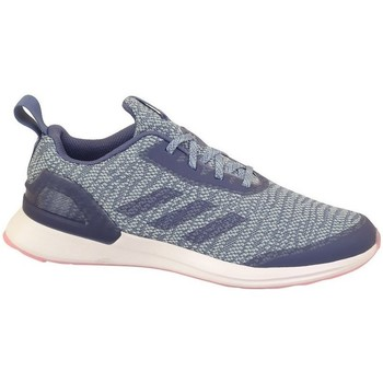 kengät Lapset Matalavartiset tennarit adidas Originals Rapidarun X Knit J Grafiitin väriset,Harmaat