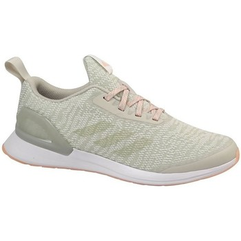 kengät Lapset Juoksukengät / Trail-kengät adidas Originals Rapidarun X Knit J Beesit, Oliivinväriset