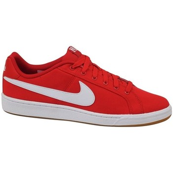 kengät Miehet Matalavartiset tennarit Nike Court Royale Canvas Valkoiset,Punainen