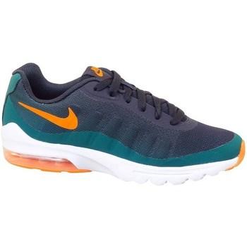 kengät Lapset Matalavartiset tennarit Nike Air Max Invigor Print GS Grafiitin väriset,Vihreät