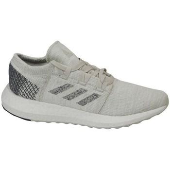 kengät Lapset Juoksukengät / Trail-kengät adidas Originals Pureboost GO J Harmaat