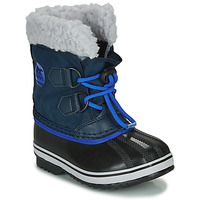kengät Lapset Talvisaappaat Sorel CHILDRENS YOOT PAC NYLON Blue