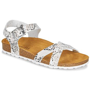 kengät Naiset Sandaalit ja avokkaat André REFLEXE White