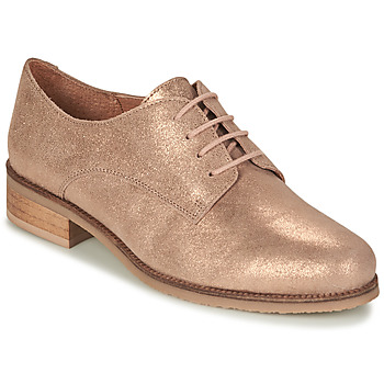 kengät Naiset Derby-kengät André PANCAKE Kulta