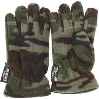 Asusteet / tarvikkeet Pojat Hanskat Universal Textiles  Green Camouflage