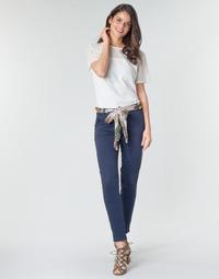 vaatteet Naiset 5-taskuiset housut Betty London MIRABINE Laivastonsininen