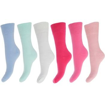 Asusteet / tarvikkeet Naiset Sukat Floso  Pink/Blue Shades