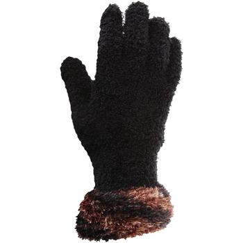 Asusteet / tarvikkeet Naiset Hanskat Floso  Black/Copper