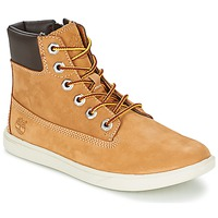 kengät Pojat Bootsit Timberland GROVETON 6IN LACE WITH SIDE ZIP RED MULTI WF SDE