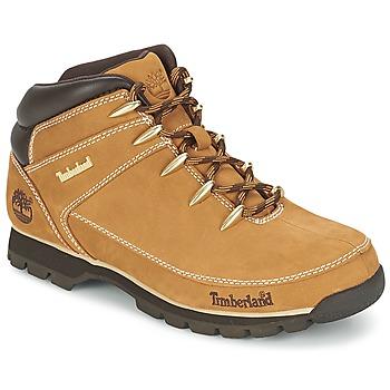 kengät Miehet Bootsit Timberland EURO SPRINT HIKER RED MULTI WF SDE