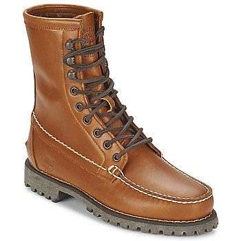 kengät Miehet Bootsit Timberland AUTHENTICS 8 IN RUGGED HANDSEWN Earth / TLE DREAM GRAPHITE