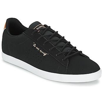 kengät Naiset Matalavartiset tennarit Le Coq Sportif AGATE LO Black