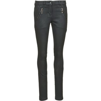 vaatteet Naiset Slim-farkut Tom Tailor LIRDO Black / Lakattu suklaanruskea