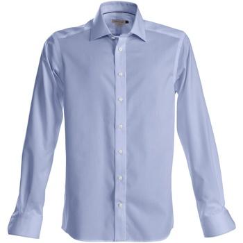 vaatteet Miehet Pitkähihainen paitapusero J Harvest & Frost Green Bow Sky Blue