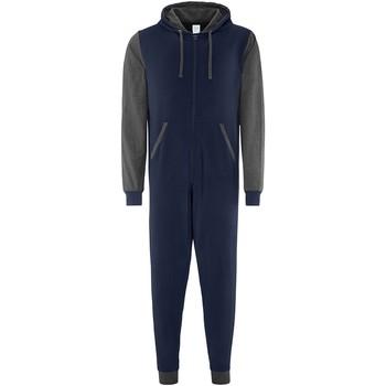 vaatteet pyjamat / yöpaidat Comfy Co CC003 Navy/Charcoal