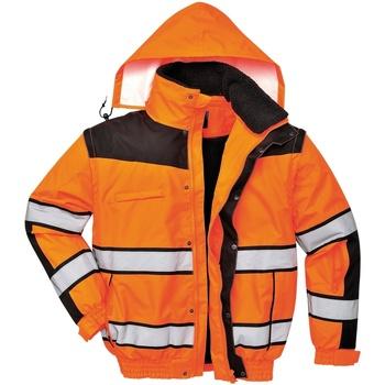 vaatteet Miehet Pusakka Portwest PW332 Orange/ Black