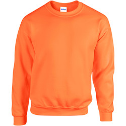 vaatteet Svetari Gildan 18000 Safety Orange