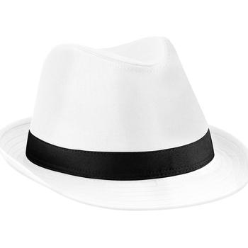 Asusteet / tarvikkeet Hatut Beechfield B630 White/Black