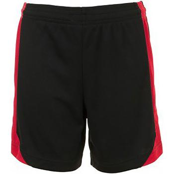 vaatteet Lapset Shortsit / Bermuda-shortsit Sols 01720 Black/Red