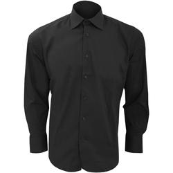 vaatteet Miehet Pitkähihainen paitapusero Sols Brighton Black