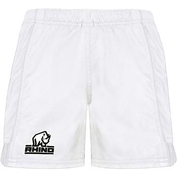 vaatteet Miehet Shortsit / Bermuda-shortsit Rhino RH015 White