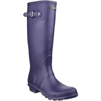 kengät Kumisaappaat Cotswold  Purple