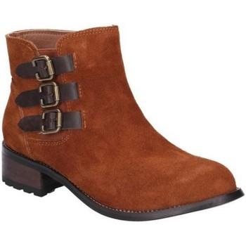kengät Naiset Bootsit Divaz  Tan