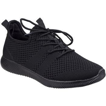 kengät Naiset Matalavartiset tennarit Divaz  Black