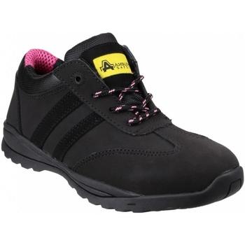 kengät Naiset Matalavartiset tennarit Amblers  Black