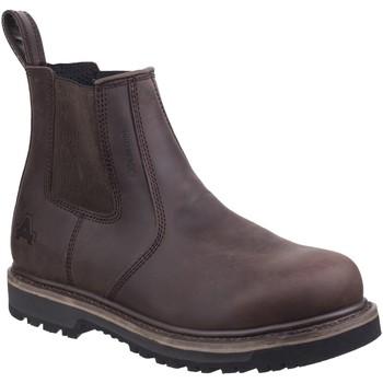kengät Miehet Bootsit Amblers  Brown