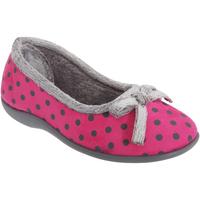 kengät Naiset Tossut Sleepers Polka Pink
