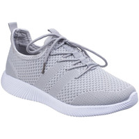 kengät Naiset Matalavartiset tennarit Divaz  Grey