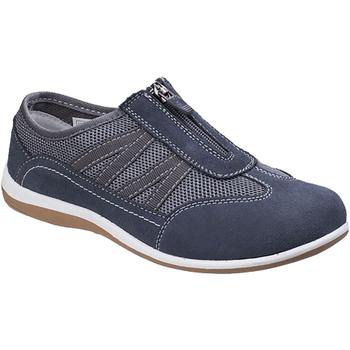 kengät Naiset Matalavartiset tennarit Fleet & Foster  Grey