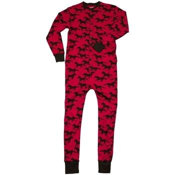 vaatteet pyjamat / yöpaidat Lazyone  Red/Black
