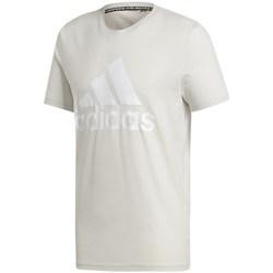 vaatteet Miehet Lyhythihainen t-paita adidas Originals Must Haves Badge OF Sport Valkoiset