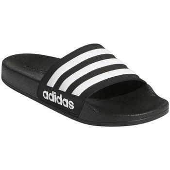 kengät Lapset Rantasandaalit adidas Originals Adilette Shower K Mustat