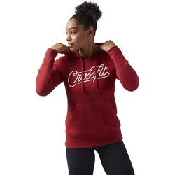 vaatteet Naiset Svetari Reebok Sport Crossfit Punainen