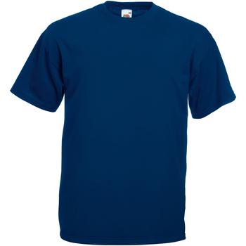 vaatteet Miehet Lyhythihainen t-paita Universal Textiles 61036 Oxford Navy