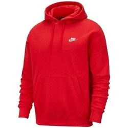 vaatteet Miehet Svetari Nike M Nsw Club Hoodie PO BB Punainen